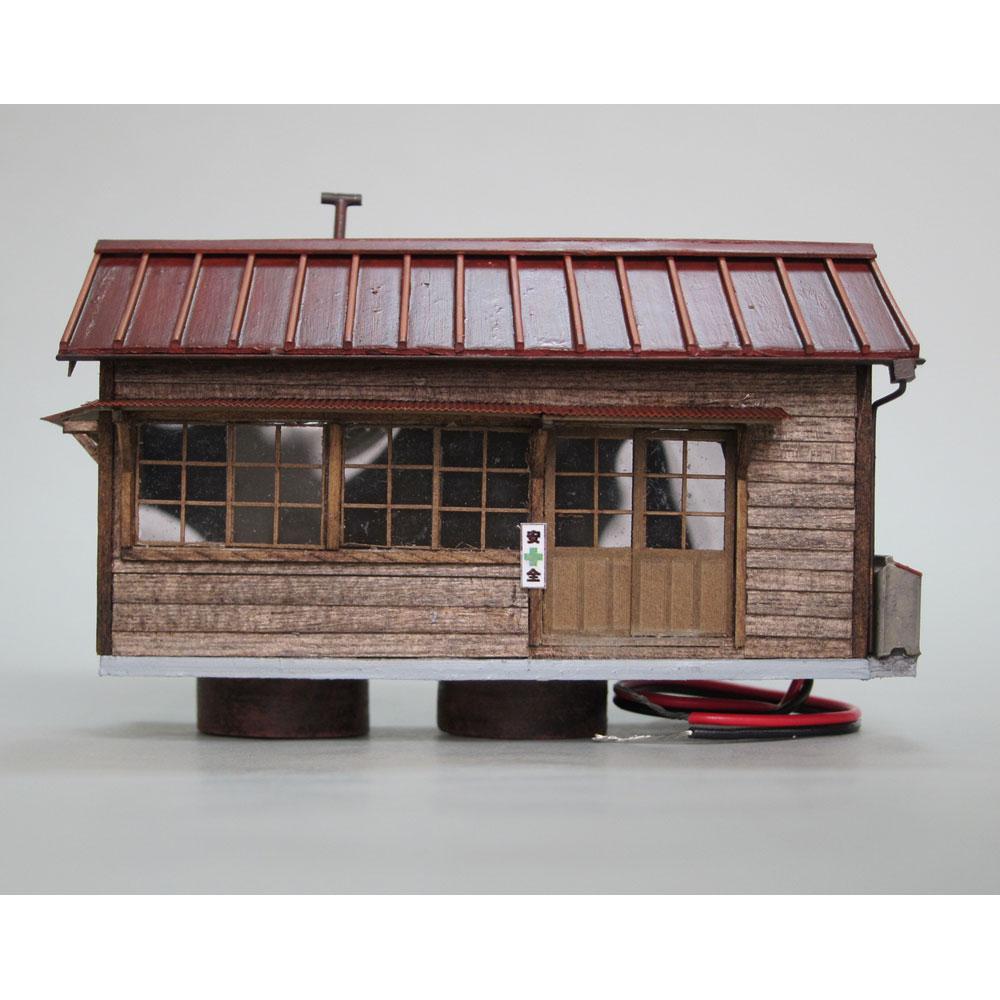 作業員詰所(トタン屋根)