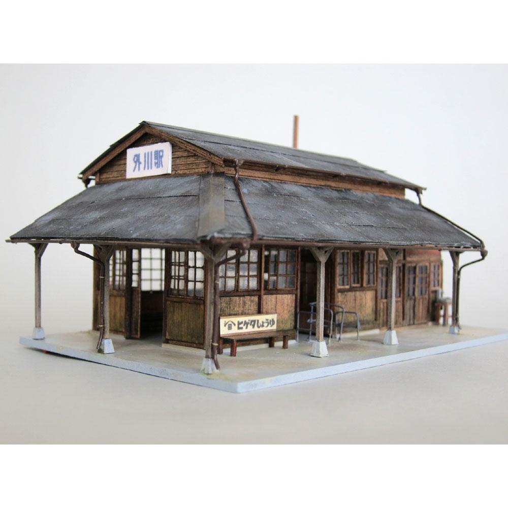 銚子電鉄外川駅駅舎